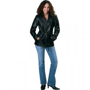 Genuine Leather Ladies' Jacket
