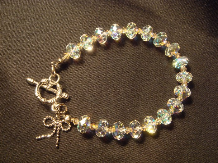 Clear  Crystals Bracelet #CL089 $69.99