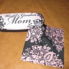 World Greatest Mom eyesglass cases &cleaning cloths#132626 $19.99