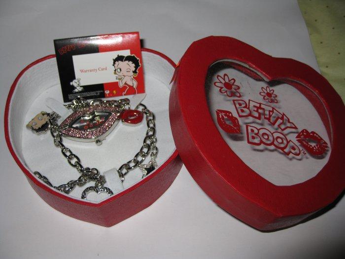 Betty Boop Bracelet Watch(  #BB-W3598) $49.99