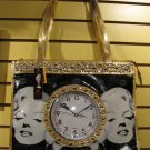 Marilyn Monroe Handbag with build in clock #M-88507MU $69.99