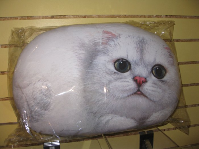 White cat pillow By Henry Lee #8305226 $49.99