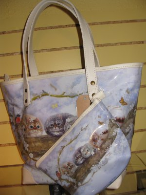 Henry Cats & Friends (Spring) Tote Bag #8303462 $59.99