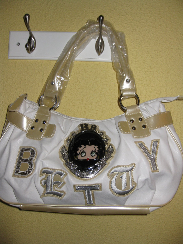 Betty Boop HandBag( #BB263-104L White) $49.99