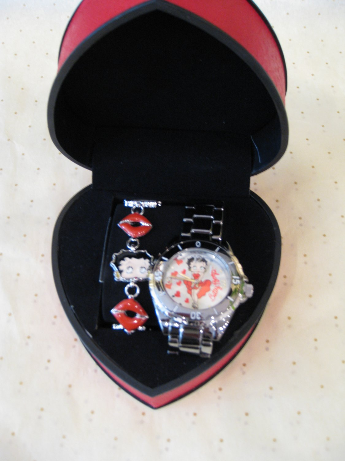 Betty Boop Watch #BB-W450BS $49.99