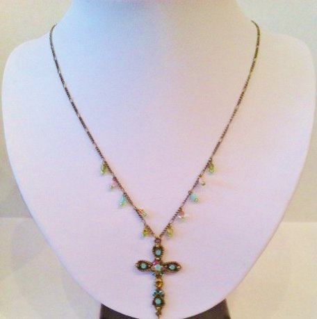 Michael Negrin Cross Pendant necklace $120.00 #BT0059