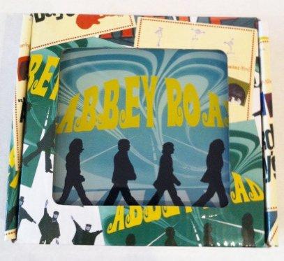 The Beatles glass coaster set $29.99 5356