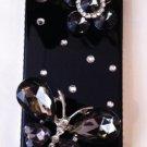 Black Embellished snap on iphone 4G/4S case $45.00 Sale:$29.99 #PC3D019