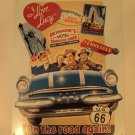 "I love Lucy ""on the road again"" metal sign $19.99 #1378"