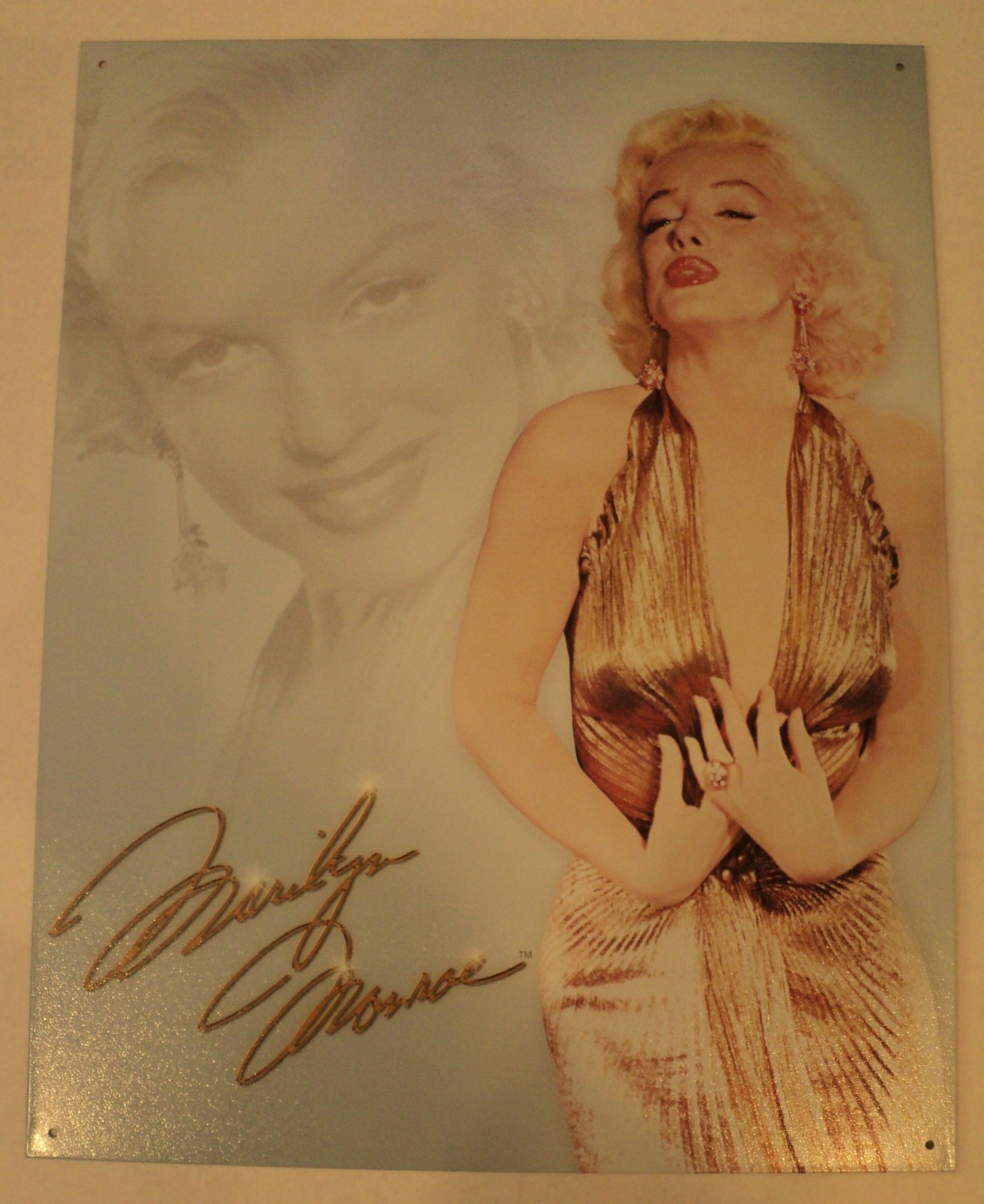 Marilyn Monroe metal sign $19.99 #1656