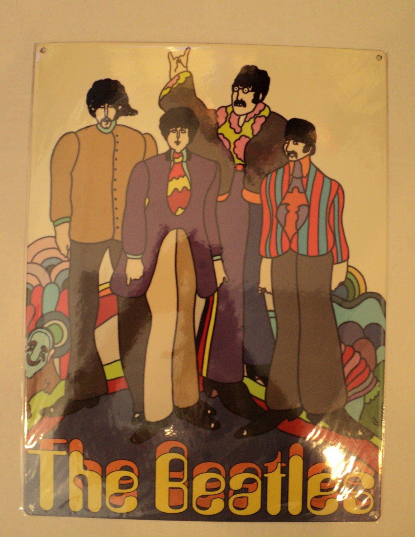 The Beatles Metal sign $24.99 #S10707
