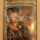 "Betty Boop ""born 2 boop"" decorative wall plate $14.99 #LP1035"