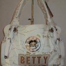 Large White Betty Boop Handbag $59.99 #BB342-1368