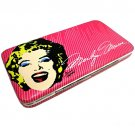 Marilyn Monroe Hard Case Vinyl Wallet $19.99 #MM1506