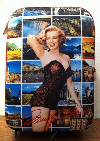 Marilyn Monroe hard luggage bag *SALE* $99.99 #MM-01