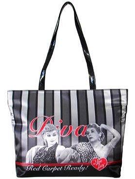 "I Love Lucy ""diva"" tote $49.99 #BB044"