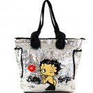 Large Silver Sequin Tote bag $69.99 #BB0110/Silver