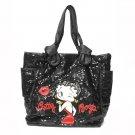 Large Black Sequin Tote bag $69.99 #BB0108/Black
