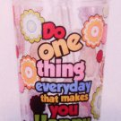 """One thing everyday..."" cup w/ straw $14.95 #16177"
