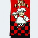 Bon Apetit tea towel $9.99 #16707