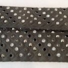Dark Grey Studded Evening Clutch $34.99 #EV38G(dark grey)