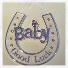 """Good Luck Baby!"" wall charm $14.99#V20-087"