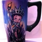 "Betty Boop ""Statue of Liberty"" Ceramic Travel Mug $19.99 #12887"