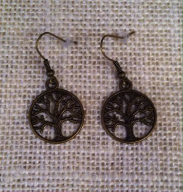 """Tree of Life"" metal earrings $14.99 #JE360AB"