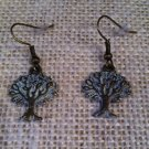 White, Metal Tree Earrings $14.99 #JE307W