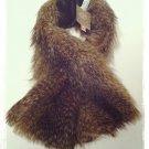 """vintage Canada"" Faux Raccoon Scarf $34.99 #L959-1427"