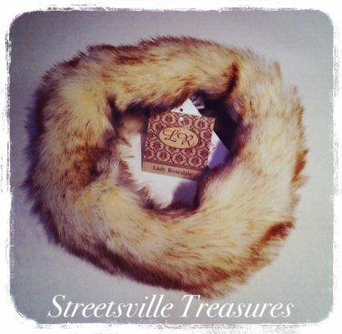 Lady Rosedale Faux fox headwrap $24.99 #L947-1428