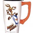 Wile-e coyote/ Road Runner Ceramic Travel mug $19.99 #12613