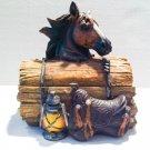 Horse Trinket Box $22.00 #XB-1077