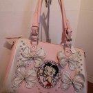 Betty Boop Pink Handbag $69.99 #BBFL-005PNK