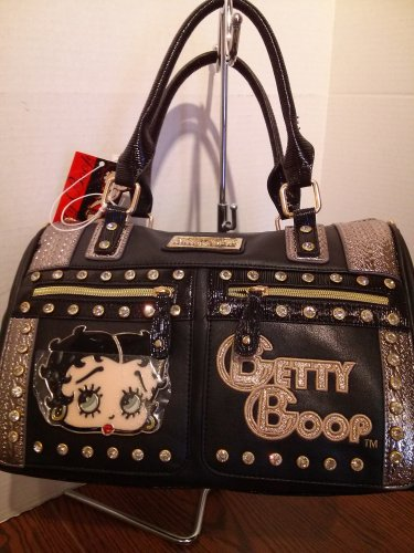 Betty Boop Black handbag $69.99 #BB485-ABLK