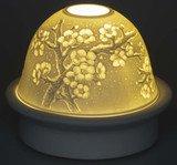 """Dreamerz"" Porcelain ""Cherry Blossom"" dome nightlight $24.99 #DNL20032"