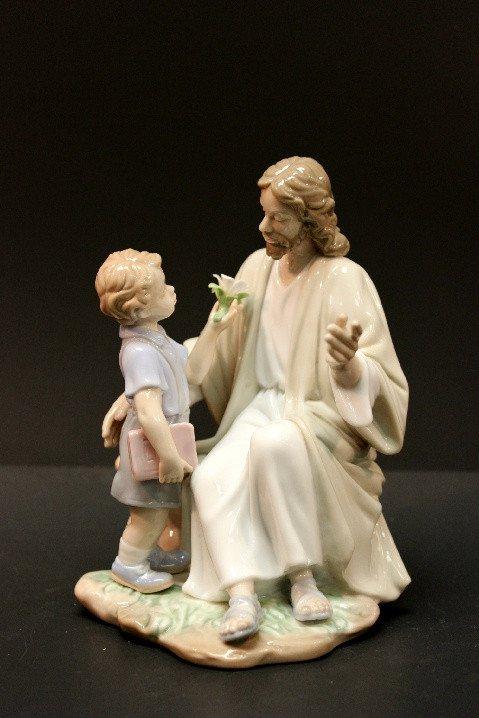 """6"""" Jesus w/Boy $45.00  #A800-L137"""