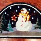 LED Snowman Print Doormat $49.99 #XM25