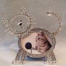 Crystal Cat Photo Frame $24.99 #SE1936