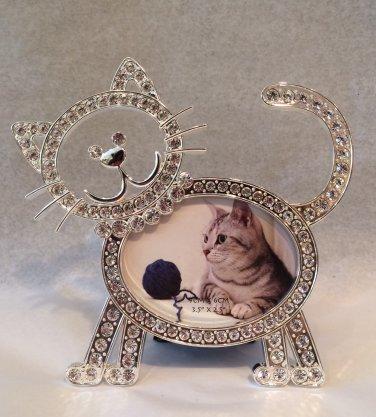 Crystal Cat Photo Frame $24.99 #SE1936