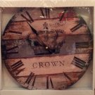 """Crown"" clock $29.99 #03014"