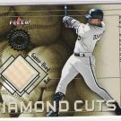 2001 FLEER AUTHORITY RAY DURHAM WHITE SOX DIAMOND CUTS GAME-USED BAT CARD