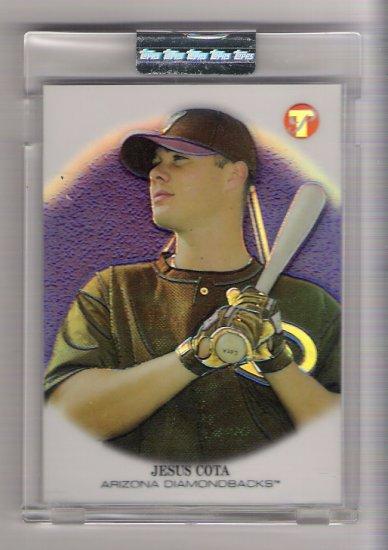 2002 TOPPS PRISTINE JESUS COTA DIAMONDBACKS UNCIRCULATED REFRACTOR CARD