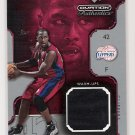 2002-03 UD OVATION AUTHENTICS ELTON BRAND CLIPPERS WARM-UPS CARD