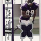2002 UD TRAVIS TAYLOR RAVENS BIG GAME JERSEY CARD
