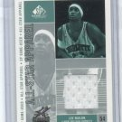 2002-03 UD SP ALL-STAR APPAREL LEE NAILON HORNETS JERSEY CARD