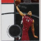 2006 TOPPS FINEST FACT JOEY GRAHAM RAPTORS GAME-WORN JERSEY CARD