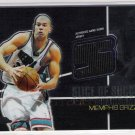 2004-05 TOPPS CHROME SHANE BATTIER GRIZZLIES SLICE OF SUCCESS JERSEY CARD