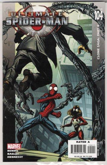 ULTIMATE SPIDER-MAN #104 CLONE SAGA-NEVER READ!