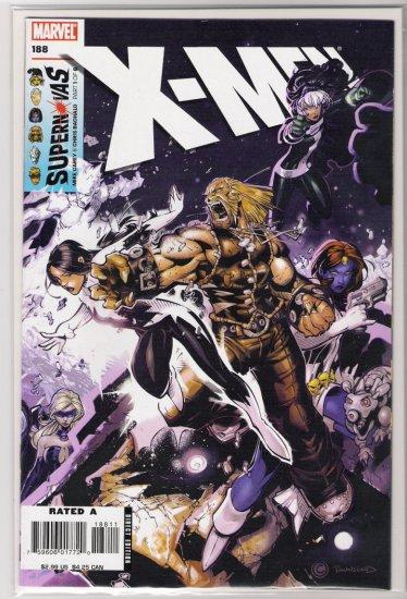 X-MEN #188-NEVER READ!